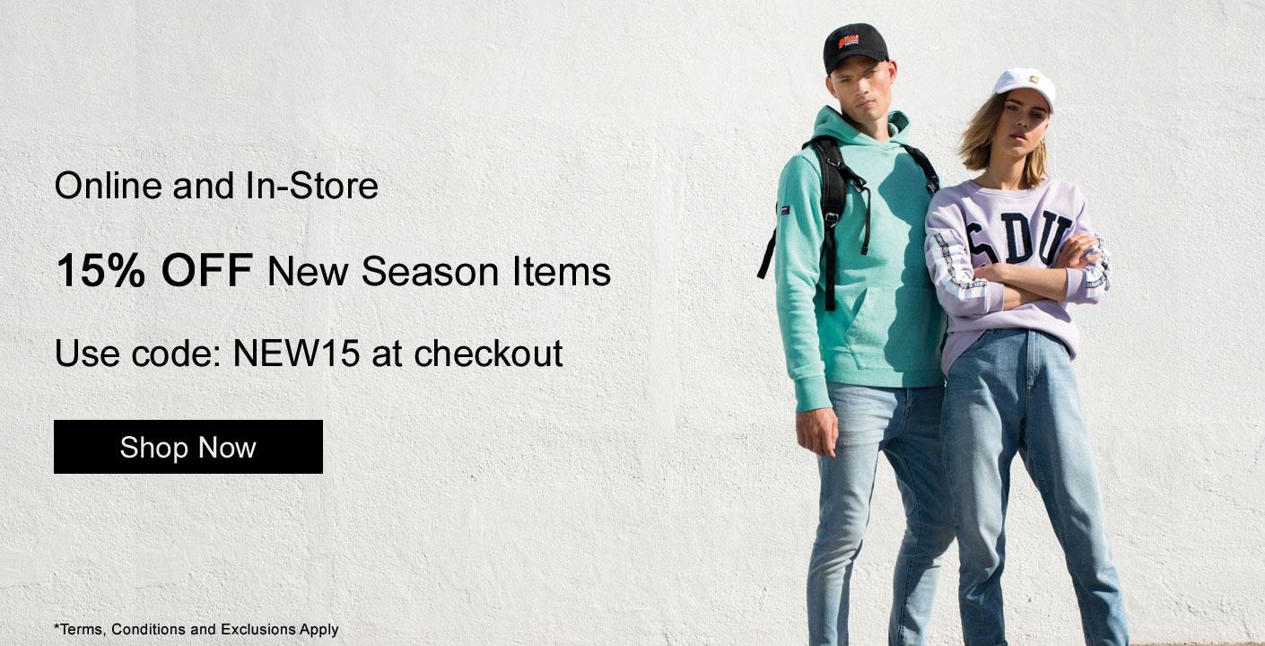 15% OFF New Season Items at masdings.com