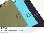 Boss Casual Tales T-Shirt Deal At Oxygen Clothing