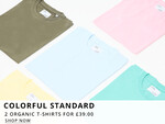 Colorful Standard Organic T-Shirt Deal At Oxygen Clothing