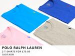 Polo Ralph Lauren T-Shirt Deal At Oxygen Clothing