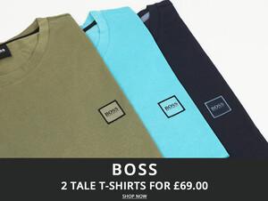 Boss T-Shirt Deal At Oxygen Clothing