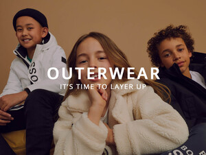 Kids Outerwear collection At Oxygenclothing