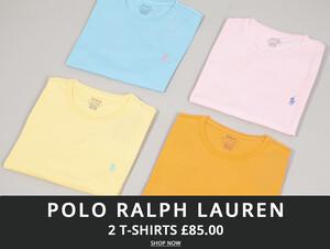 Ralph Lauren T-Shirt Deal At Oxygen Clothing