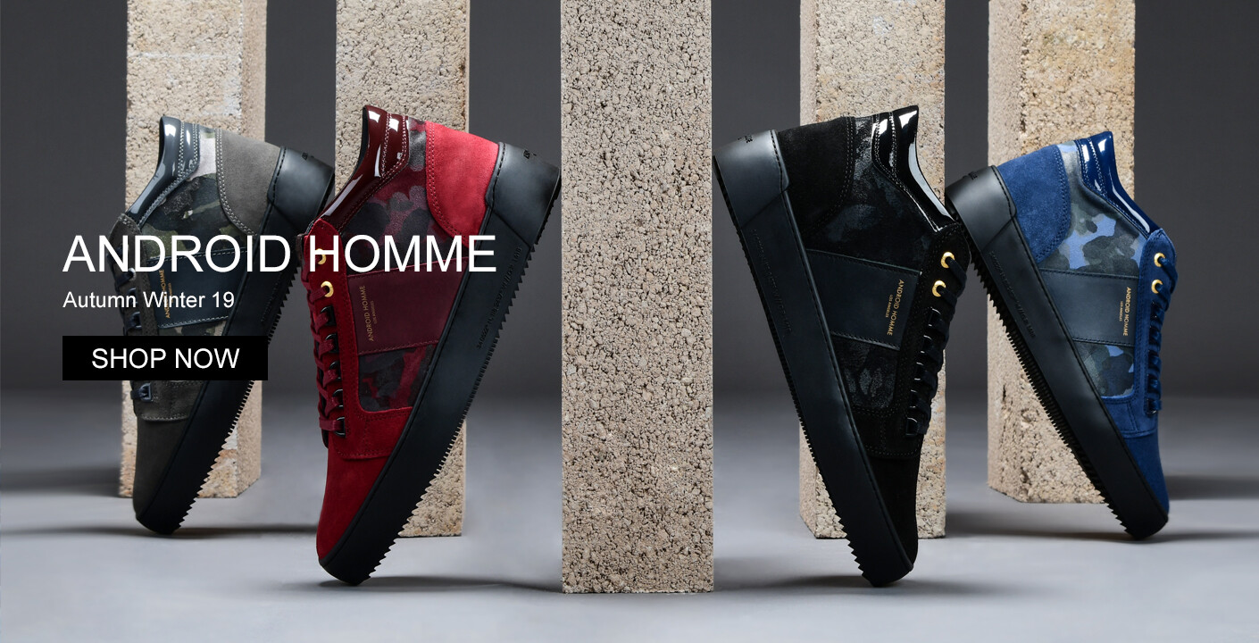 Android Homme Trainers At Oxygenclothing