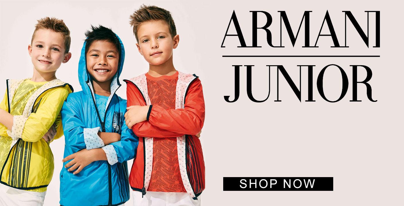 Armani Junior at Oxygenclothing.co.uk