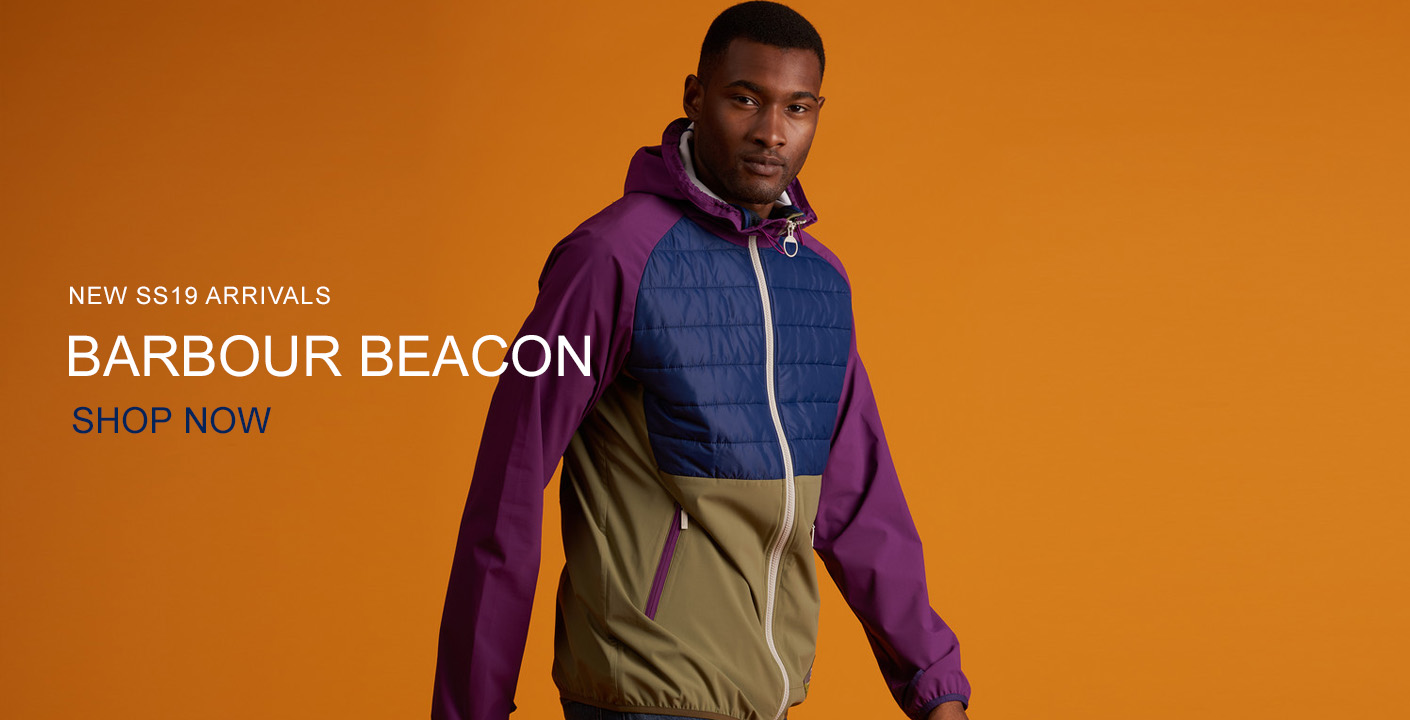 Barbour Beacon Spring Summer 19 At Masdings