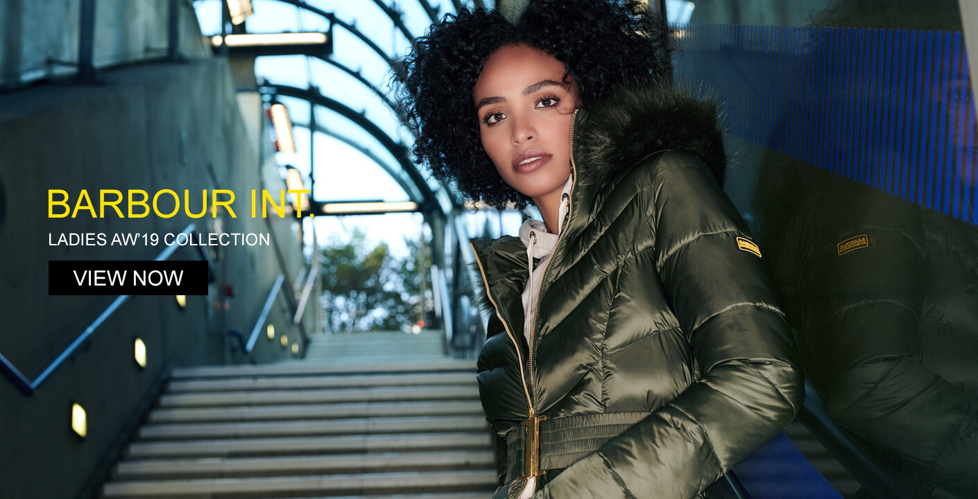Womens Barbour International Jackets & Coats At Masdings.com