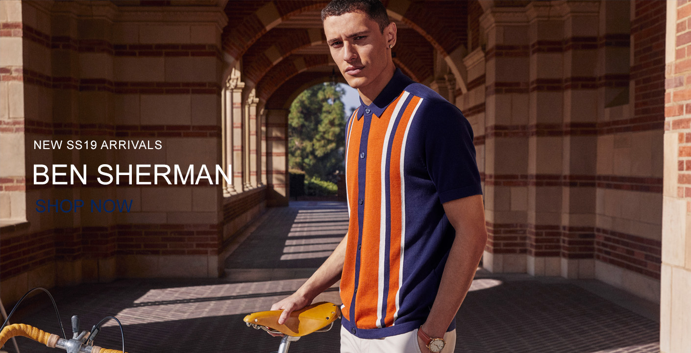 Ben Sherman Spring Summer 19 At Masdings