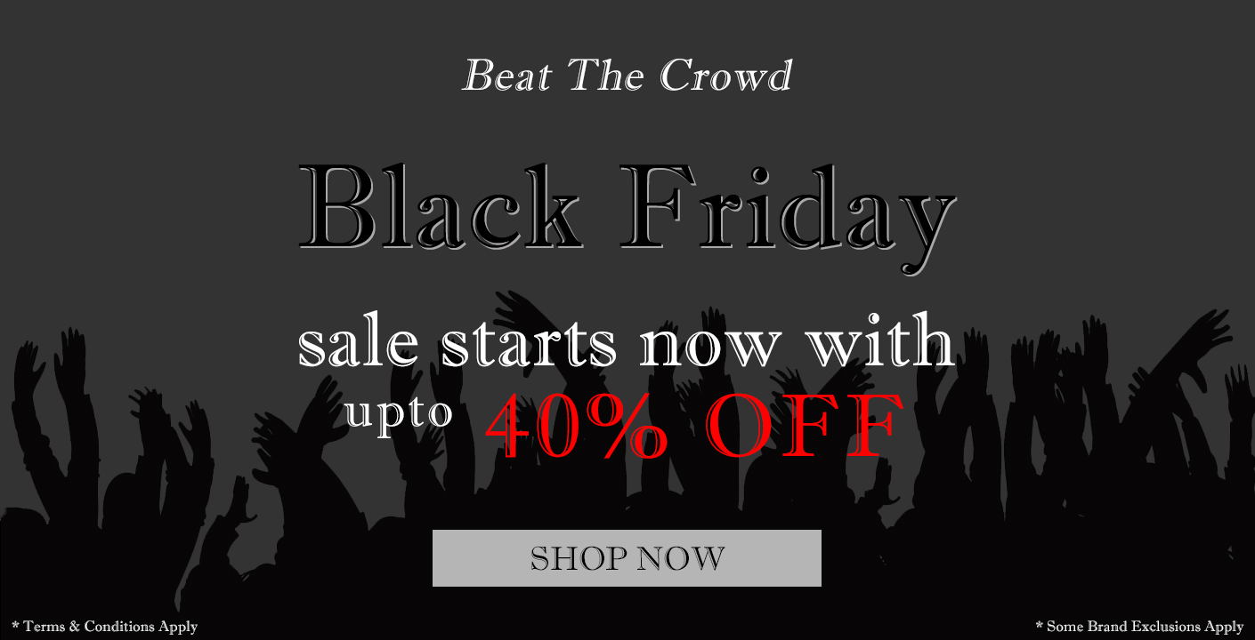 Black Friday Sale Now On | up-to 40% OFF at masdings.com
