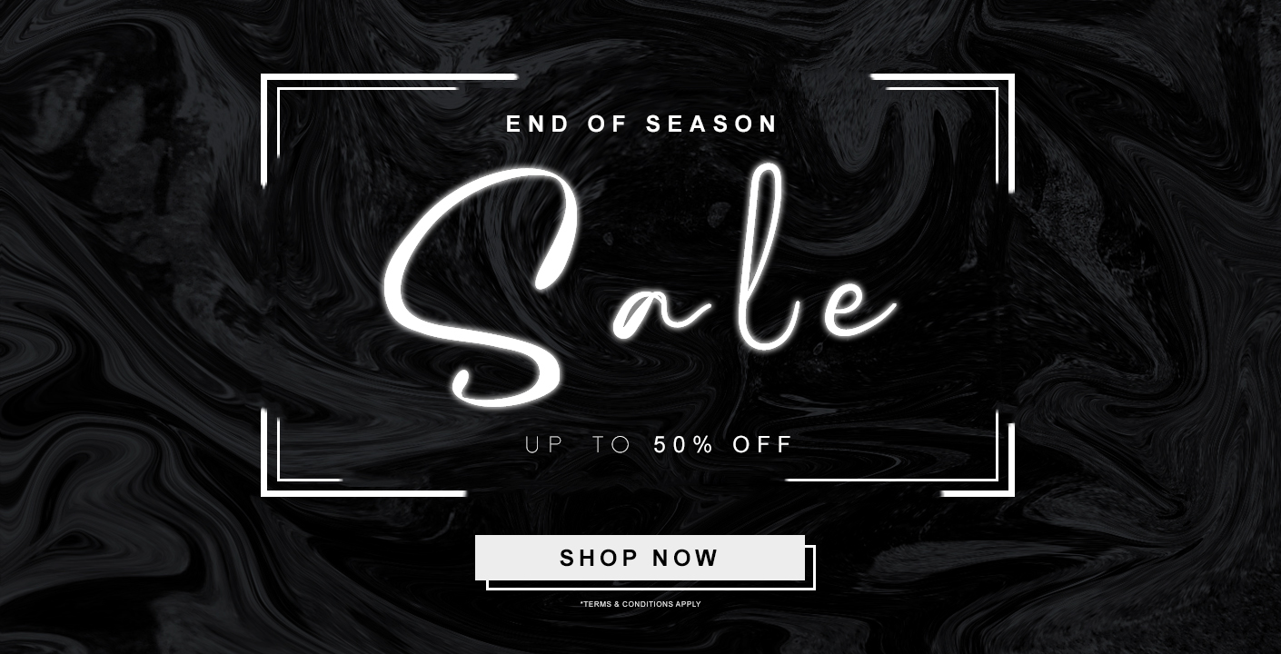 End Of Season Sale At Oxygen Clothing
