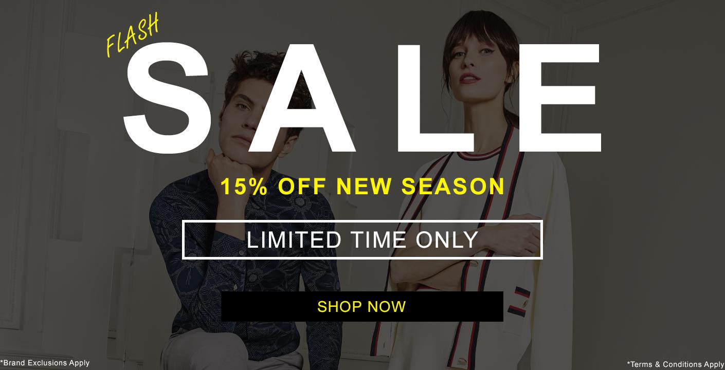 Flash Sale 15% Off New Season At Masdings