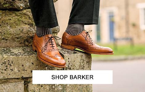 Barker Footwear at oxygenclothing.co.uk