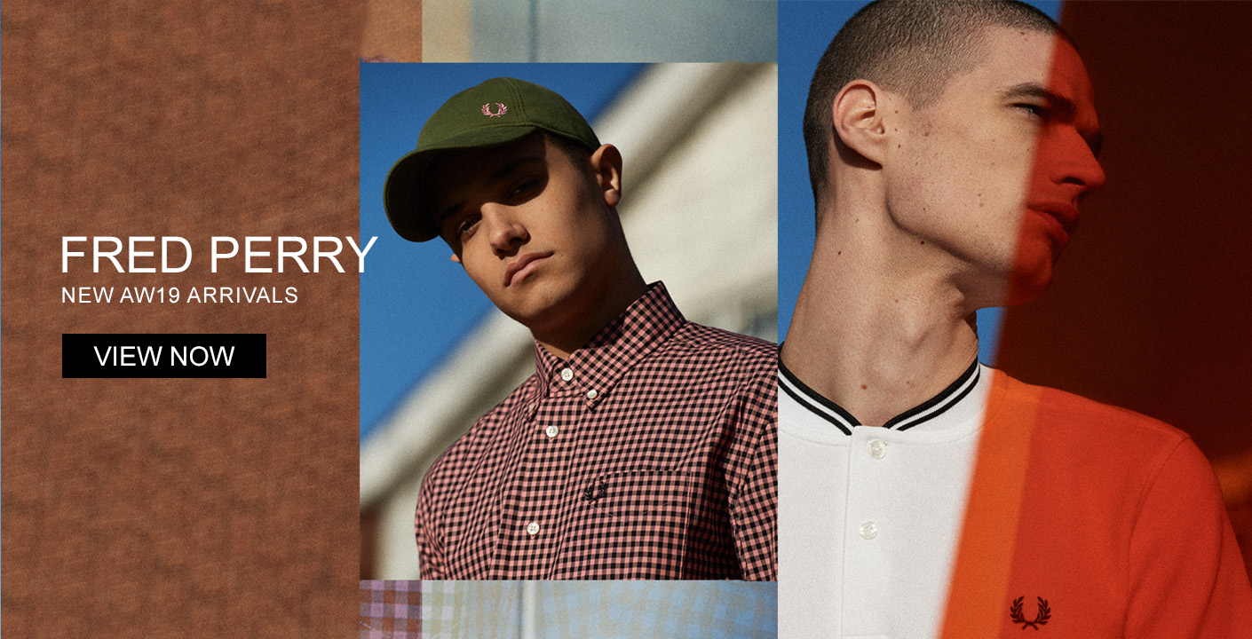 Fred Perry Autumn Winter 19 Now Online At Masdings