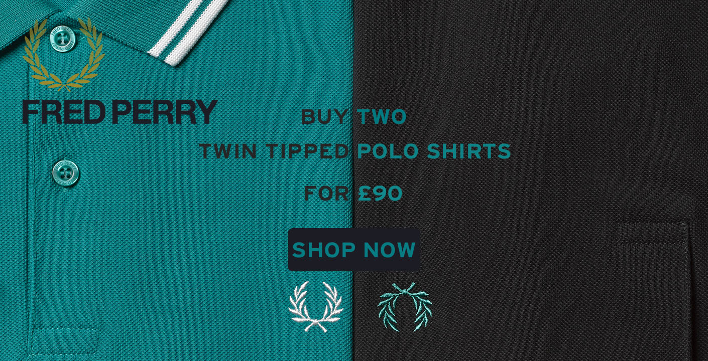 Fred Perry Twin Tip Offer