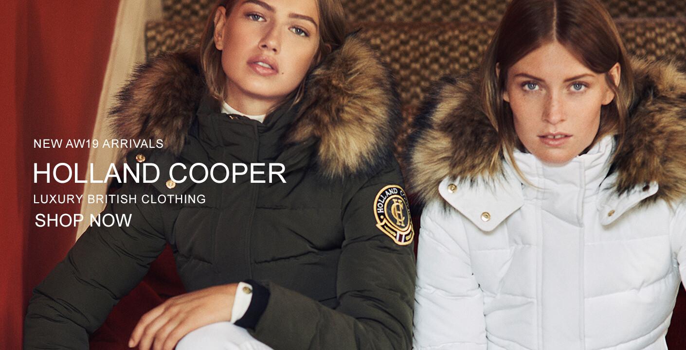 Holland Cooper Clothing & Jackets At Masdings