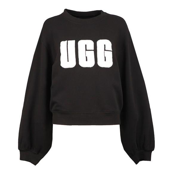UGG - Fuzzy Logo Brook Crew Sweatshirt