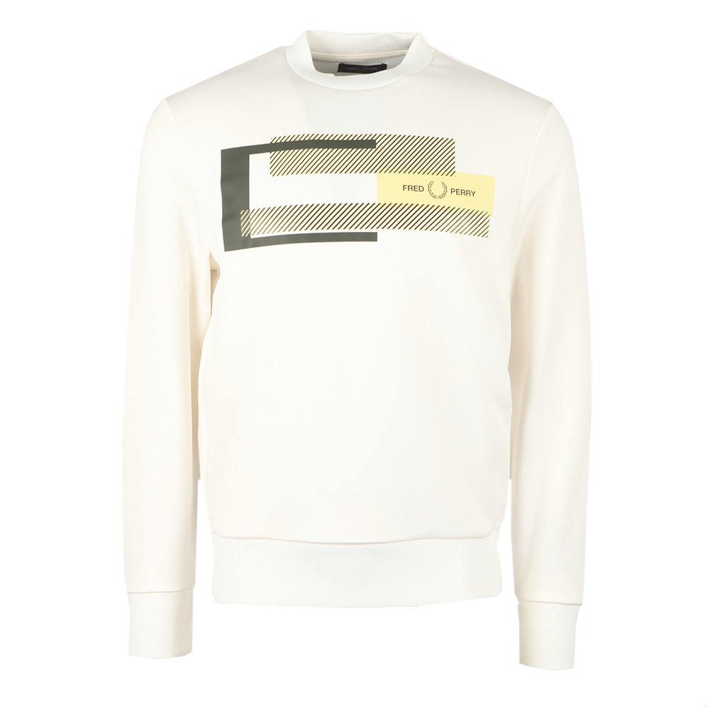 Fred Perry - Mixed Graphic Sweatshirt