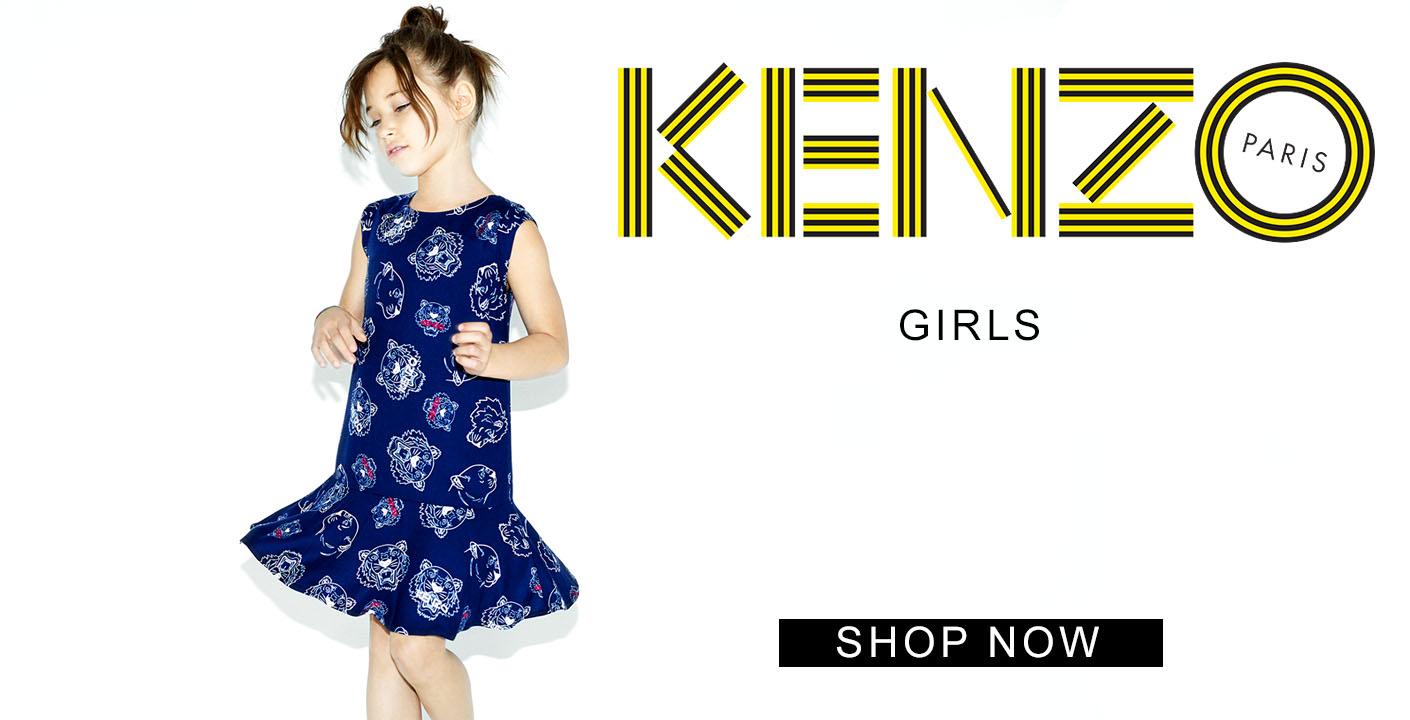 Girls Kenzo At Oxygenclothing.co.uk