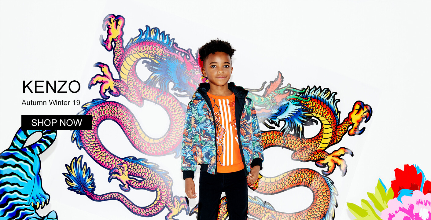 Kenzo Kids Autumn Winter 19 Now Online At Oxygenclothing