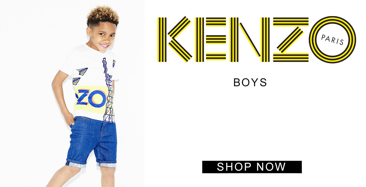 Kenzo boys at oxygenclothing.co.uk