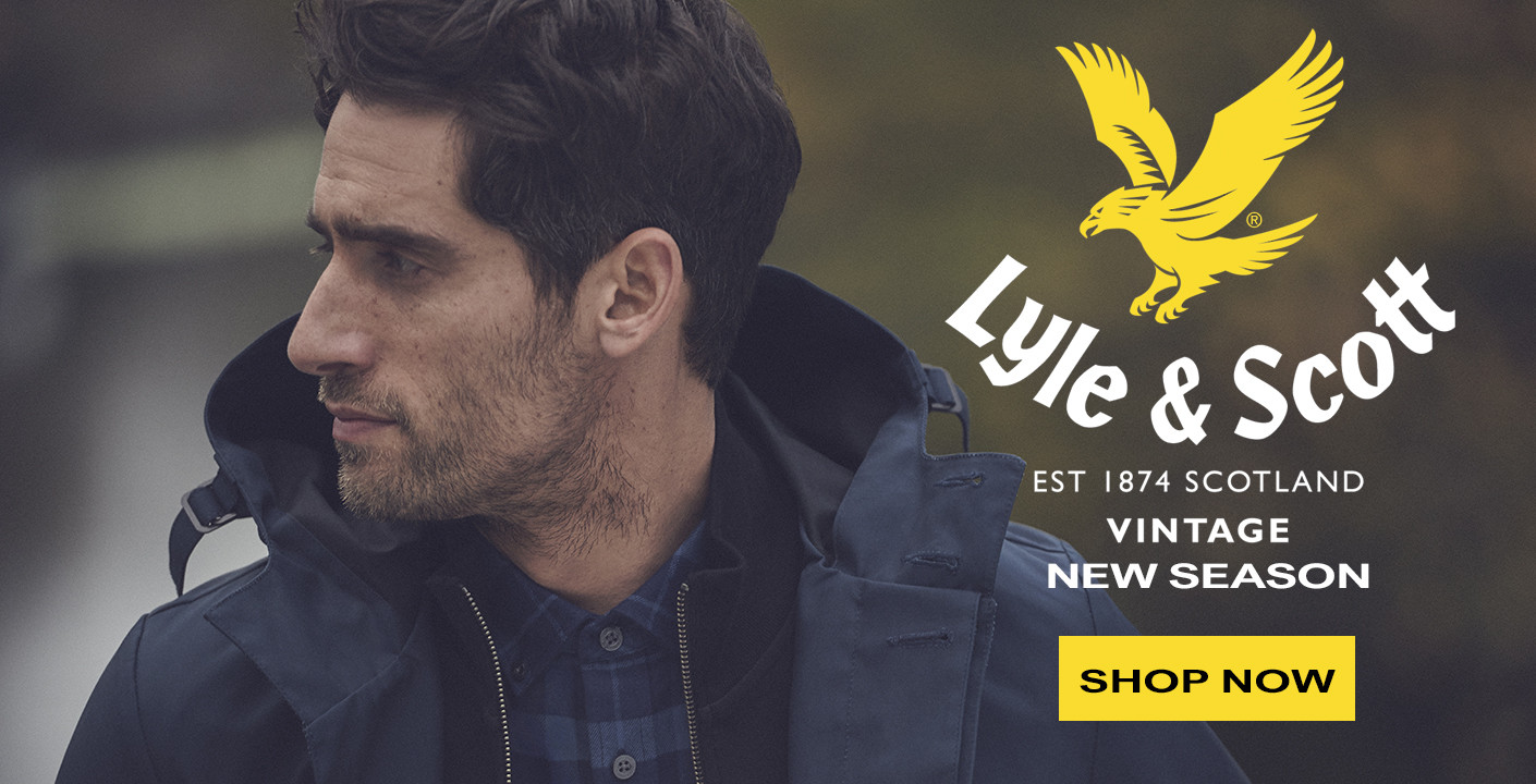 Lyle & Scott Clothing at masdings.com
