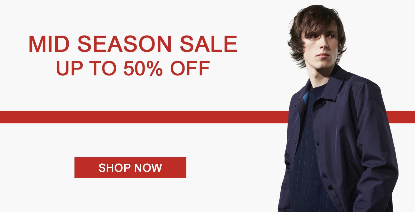 Mid Season Sale at oxygenclothing.co.uk
