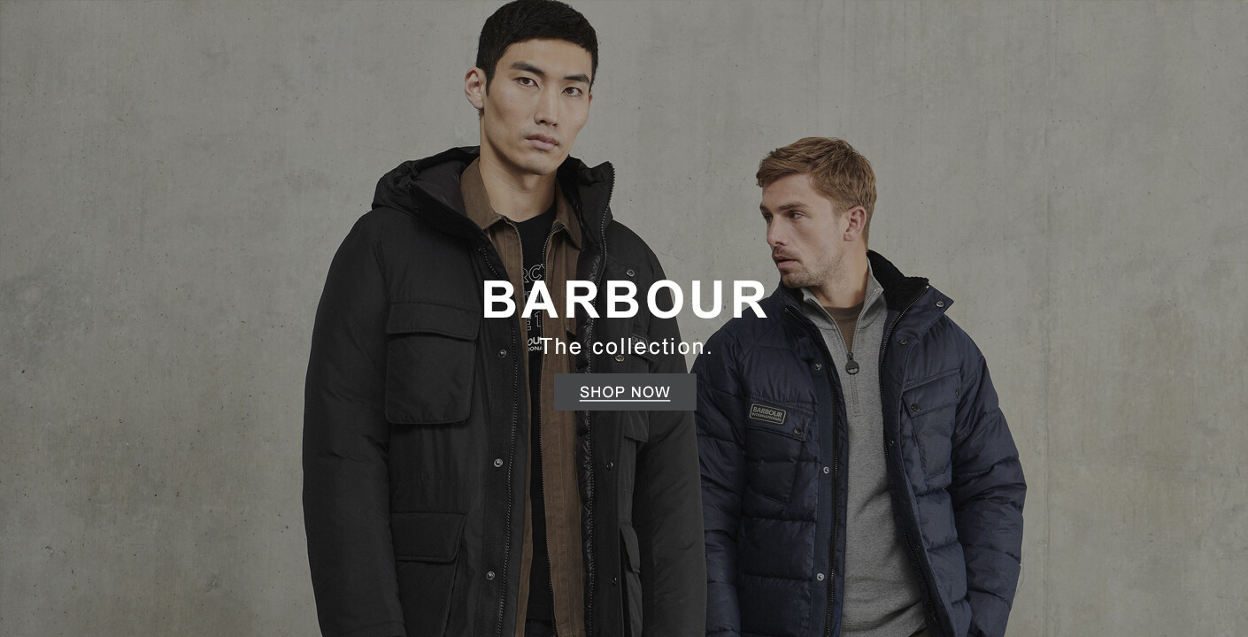 Men's Barbour Collection At Masdings