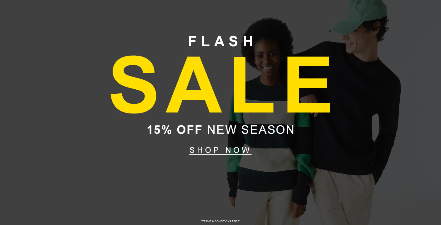 Men's Flash Sale 15% Off New Season At Masdings