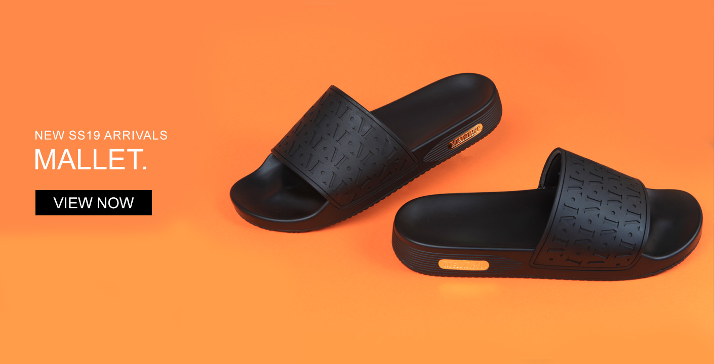 Mens Mallet Trainers & Slides At Oxygen Clothing