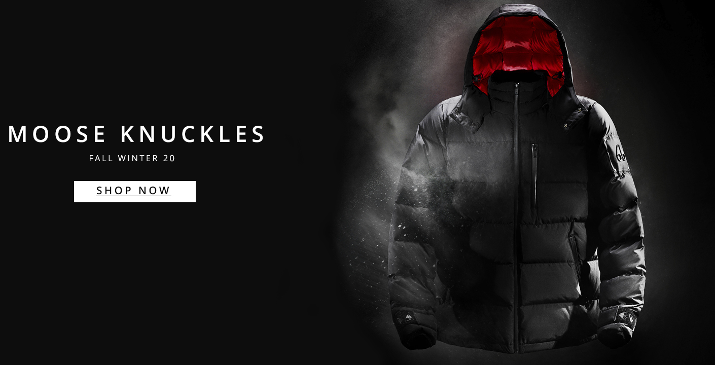 Moose Knuckles Autumn Winter 20 At Oxygen Clothing