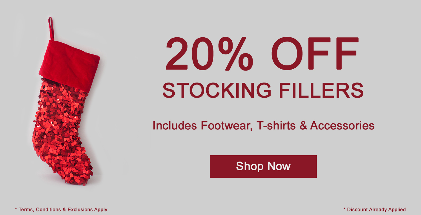 20% OFF Mens Stocking Fillers at oxygenclothing.co.uk
