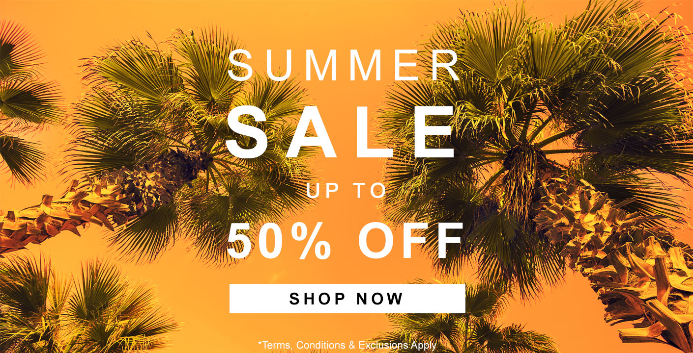 Summer Sale Now On - up to 50% OFF