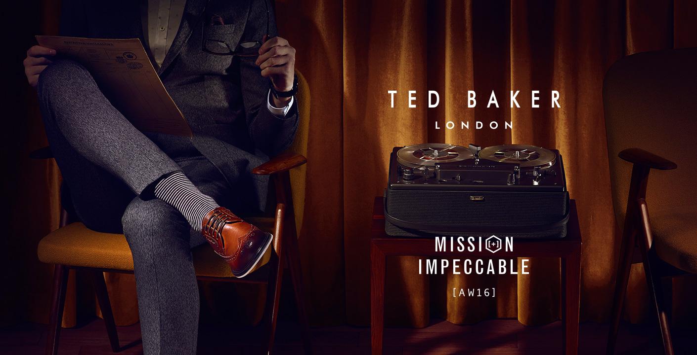 Mens Ted Baker at oxygenclothing.co.uk