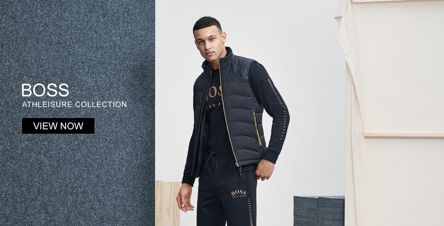 Boss Athleisure Collection At Oxygenclothing