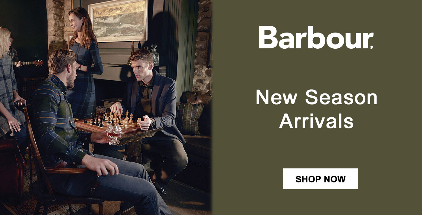 Mens Barbour Collection at masdings.com