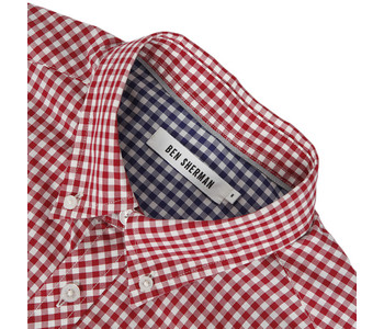 Ben Sherman Gingham shirt at masdings.com
