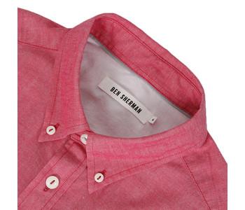 Ben Sherman Red oxford shirt at masdings.com
