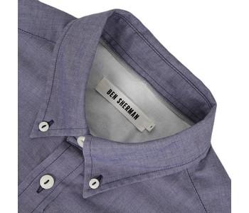 Ben Sherman Oxyford Shirt blue at masdings.com