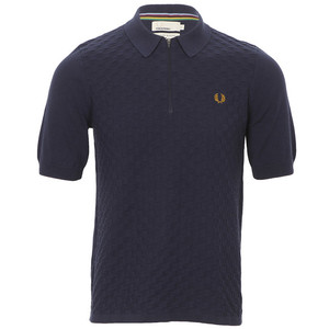 Fred Perry by Bradley Wiggins kintted polo at Masdings.com