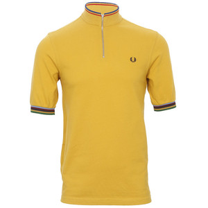 Fred Perry by Bradley Wiggins yellow polo at masdings.com