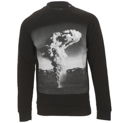 Blood Brother Nuke Print Sweatshirt at Masdings.com