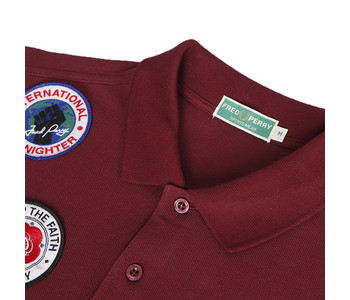 Fred Perry Northern Soul Badge Polo shirt at masdings.com