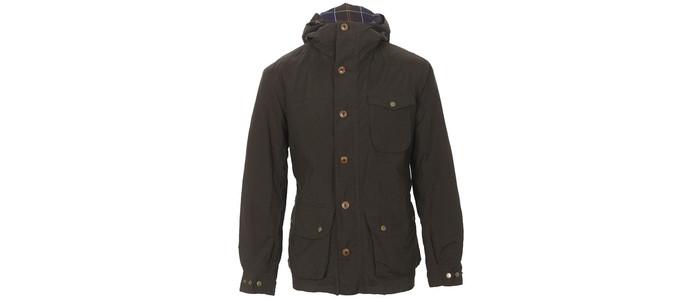 Barbour stratus wax jacket at masdings.com