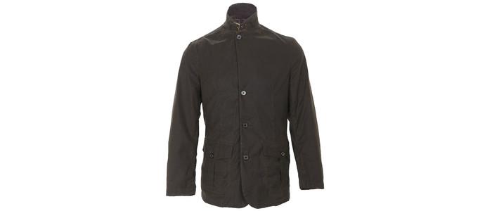 Barbour Luts wax jacket at masdings.com