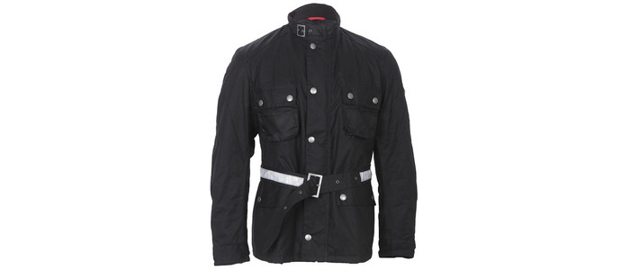 Barbour Strathdee wax jacket at masdings.com