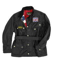 barbour black union jack international at masdings.com