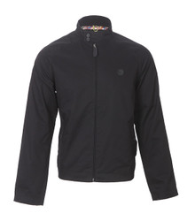 Pretty Green black harrington jacket at masdings.com