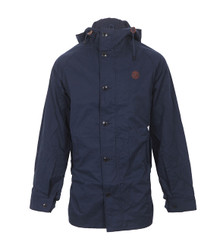 Fred Perry Fishtail Parka navy at masdings.com