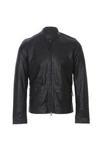 Pretty Green biker leather jacket at masdings.com