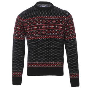 Franklin marshall knitted pattern crew jumper
